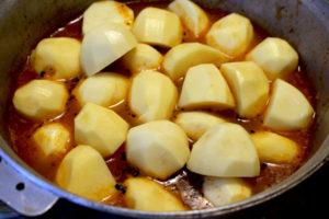 Дымляма, закладываем картошку
