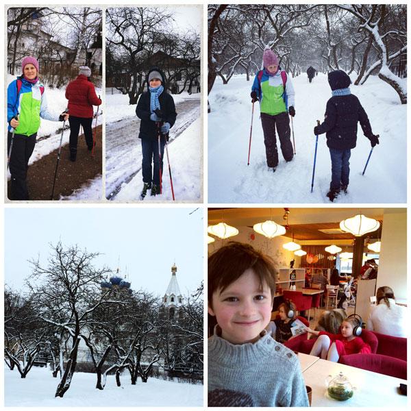 Скандинавская ходьба в Парке Коломенское