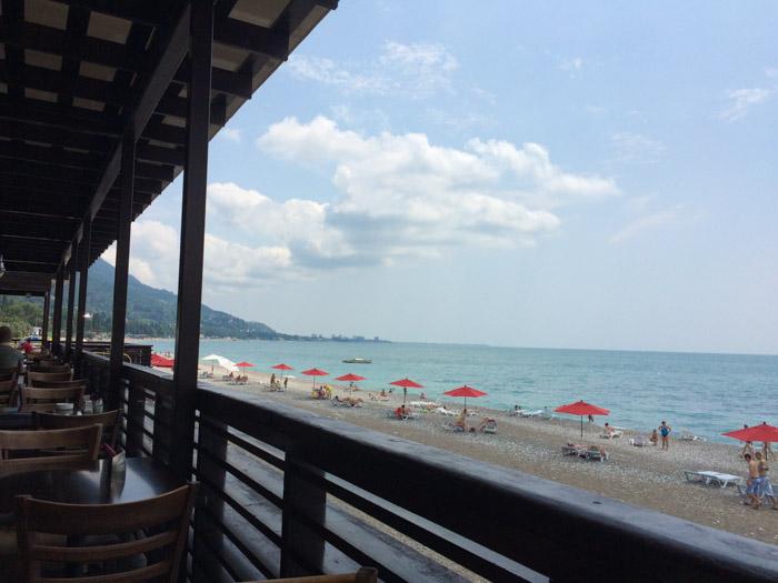 Gagra-beach