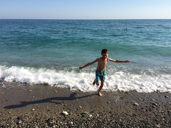 Черное море, Абхазия