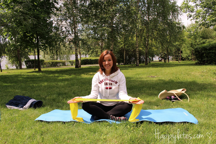 Пилатес в парке 850 летия, спорт на свежем воздухе, Happylates
