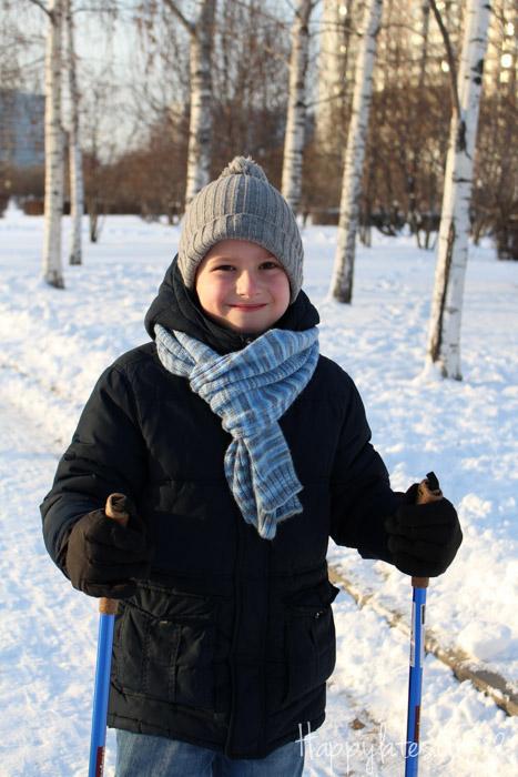 Скандинавская ходьба в Парке 850 летия