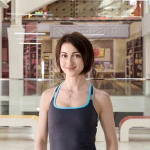 Елена Исаева, сертифицированный тренер по пилатесу