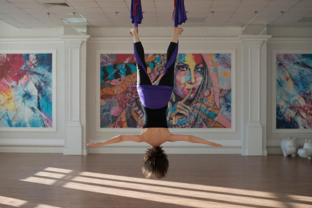 AntiGravity® фитнес, йога в гамаках, антигравити